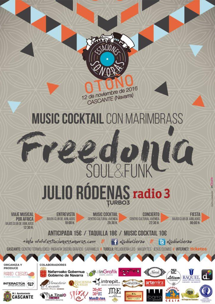 Estaciones Sonoras Otoño Freedonia Cascante Navarra Radio Cierzo1