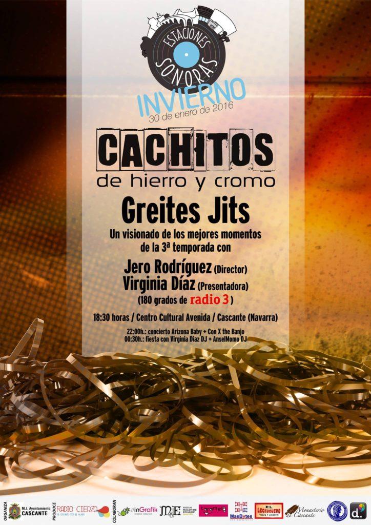 Estaciones Sonoras -Cachitos de Hierro y Cromo - Radio Cierzo Cascante - Navarra - Virginia Diaz