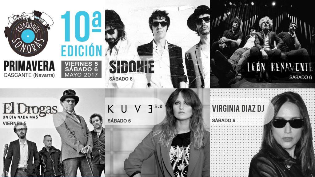 Estaciones Sonoras Primavera Sidonie Leon Benavente Drogas Virginia Diaz Radio Cierzo Cascante Navarra - Evento Face
