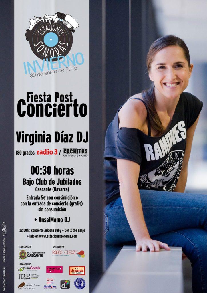 Estaciones Sonoras -Virginia Diaz Dj - Radio Cierzo Cascante - Navarra