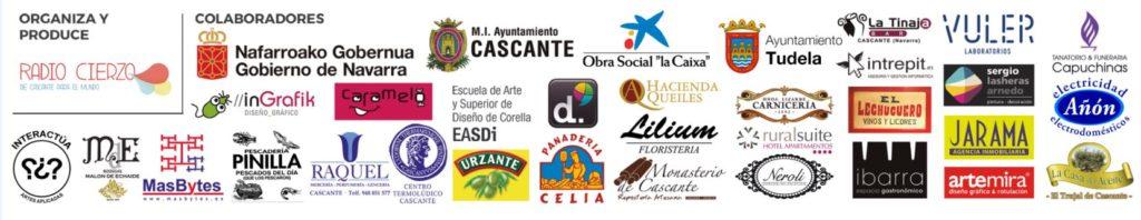 Estaciones Sonoras Primavera Sidonie Leon Benavente Drogas Virginia Diaz Radio Cierzo Cascante Navarra - Colaboran