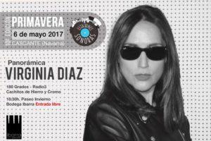 Virginia Díaz en Estaciones Sonoras Cascante Navarra Radio Cierzo