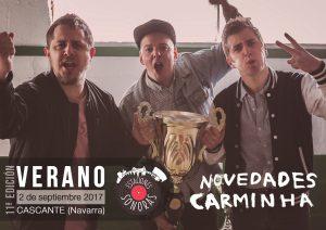 NOVEDADES CARMINHA en Estaciones Sonoras de Radio Cierzo Cascante2